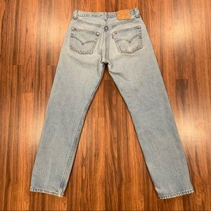 Vintage Levis 501 Jeans High Waisted Button Fly